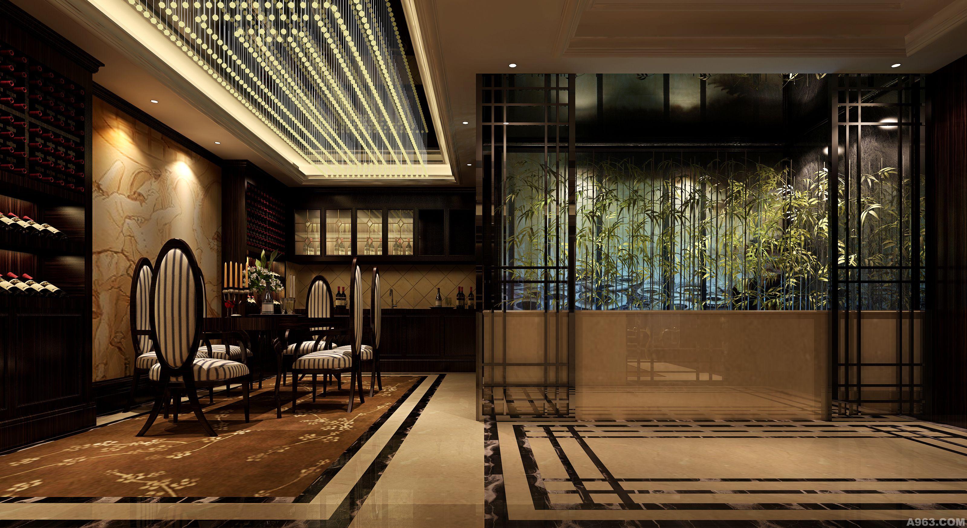 中华室内设计网 作品中心 公共空间 会所设计 > 香港喜力设计成都机构