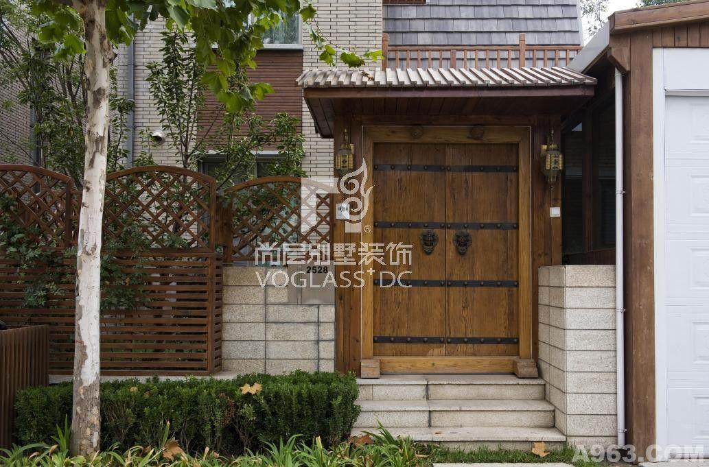 项目:三利宅院面积:348平米风格:新中式设计施工:成都尚层别墅装饰