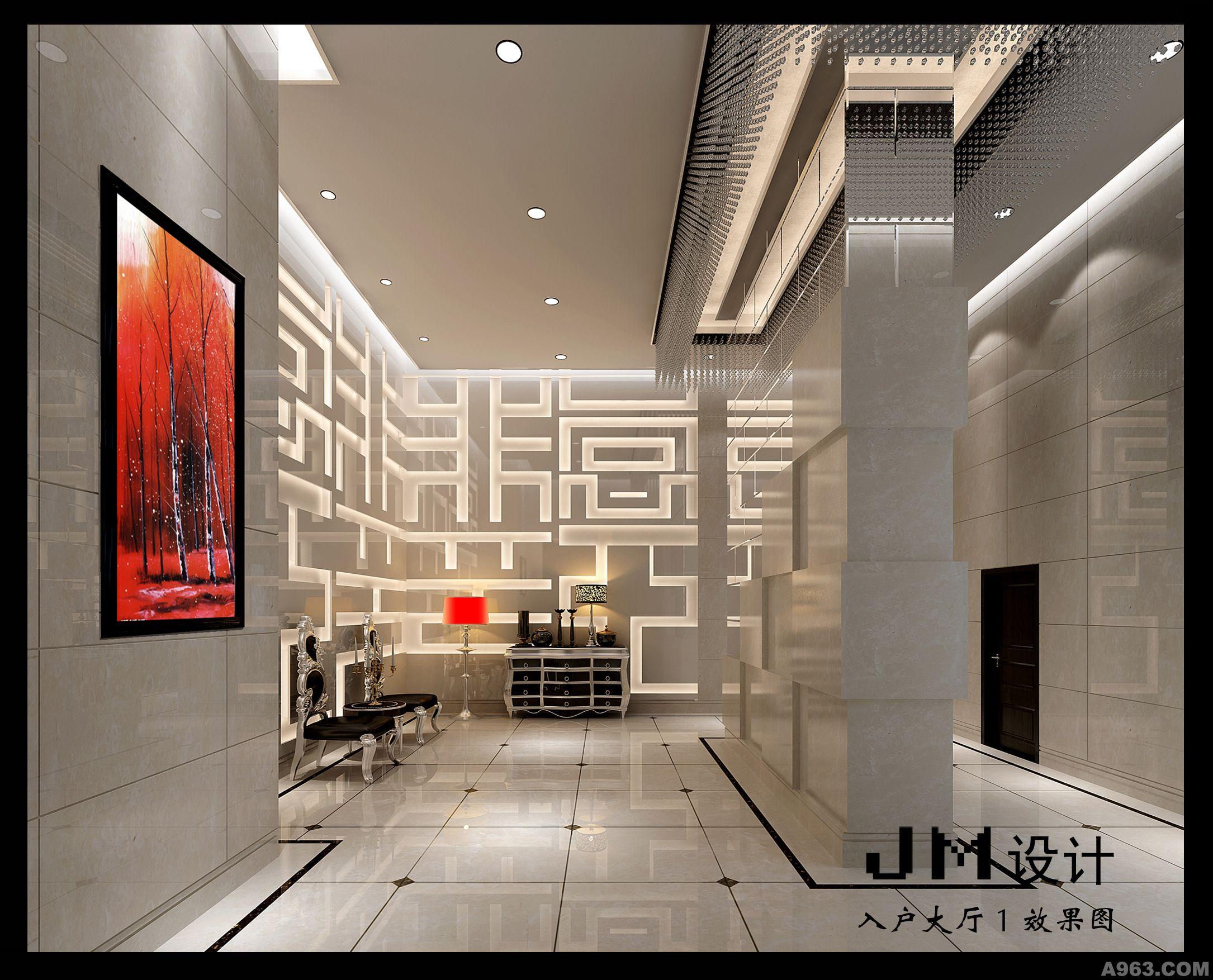 某楼盘入户大厅 - 成都商业空间设计作品