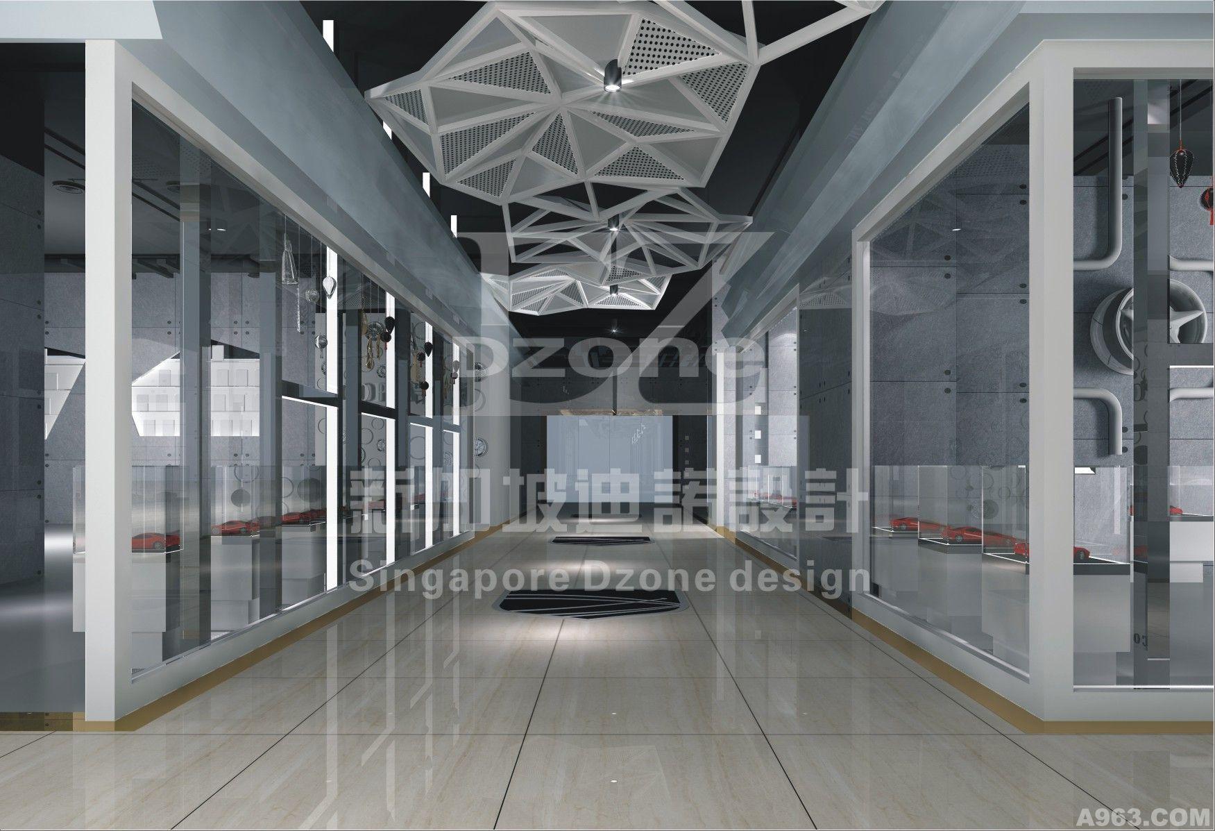 建国汽车展厅 - 展示空间 - dzone迪诺(新加坡)设计