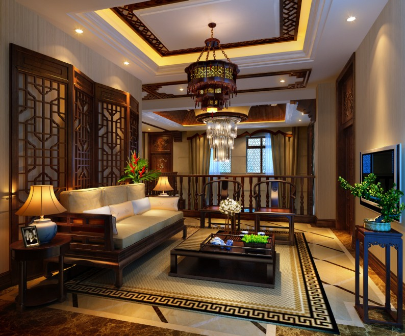 龙润国际|400平别墅欧式风格装修案例!