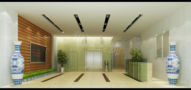 辦公室裝修設計前臺設計方案