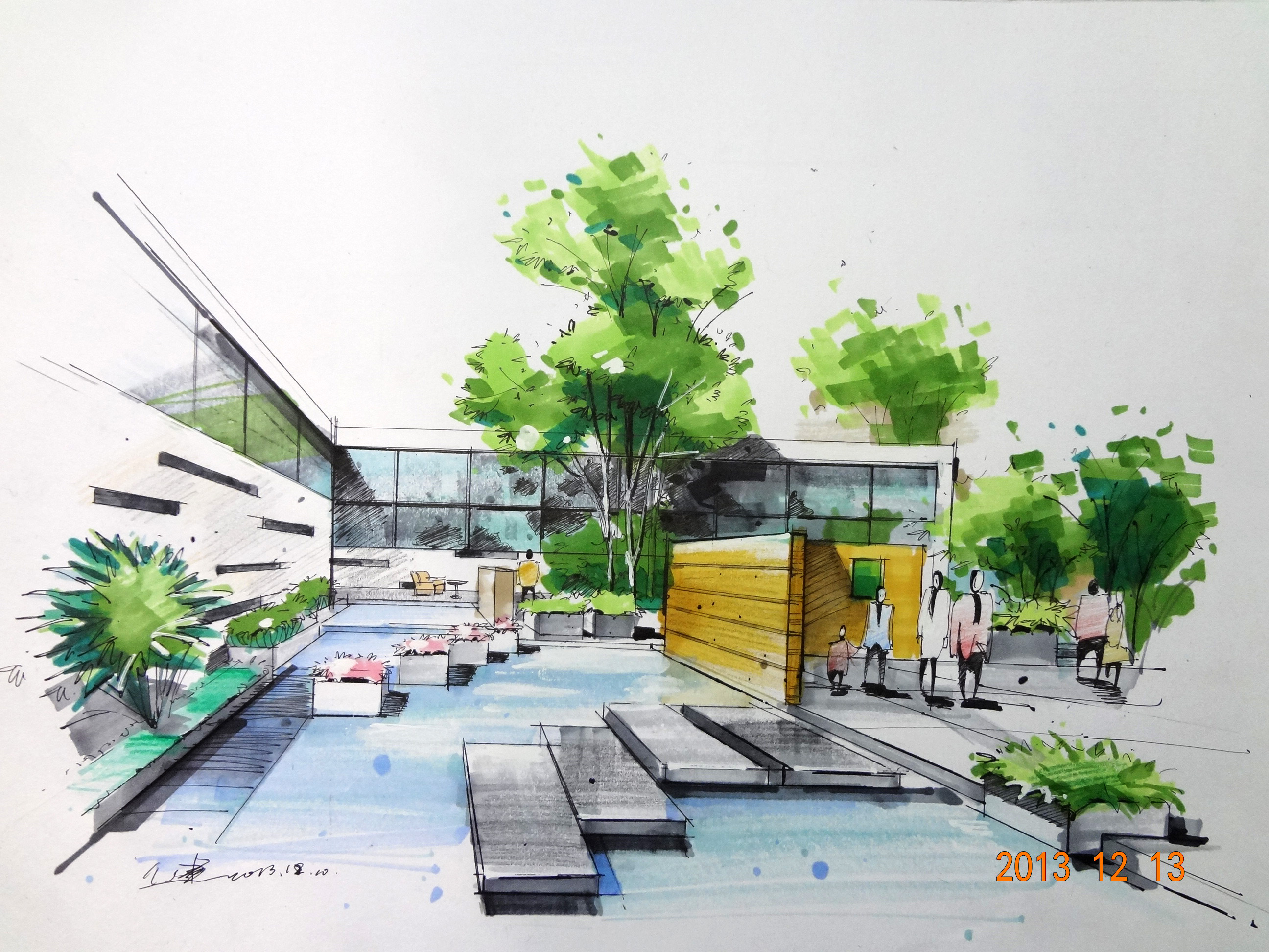 中华室内设计网 作品中心 住宅空间 家装设计 > 骆健作品