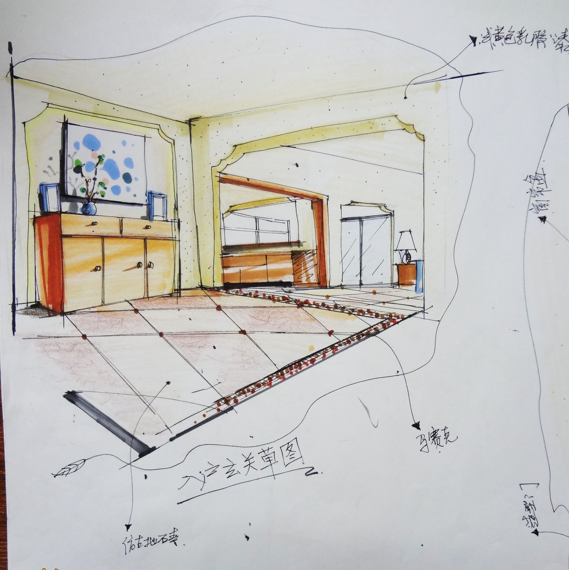 中华室内设计网 作品中心 住宅空间 家装设计 > 骆健作品  【户型】