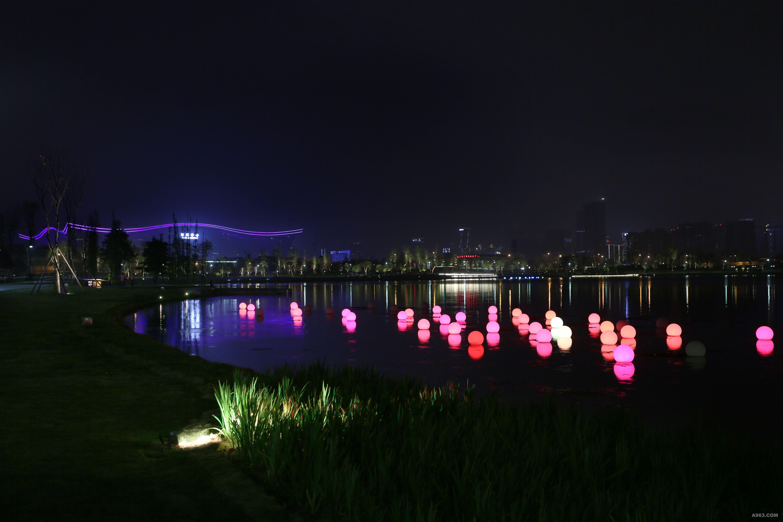 成都锦城湖综合环境提升工程设计(夜景照明) - 景观