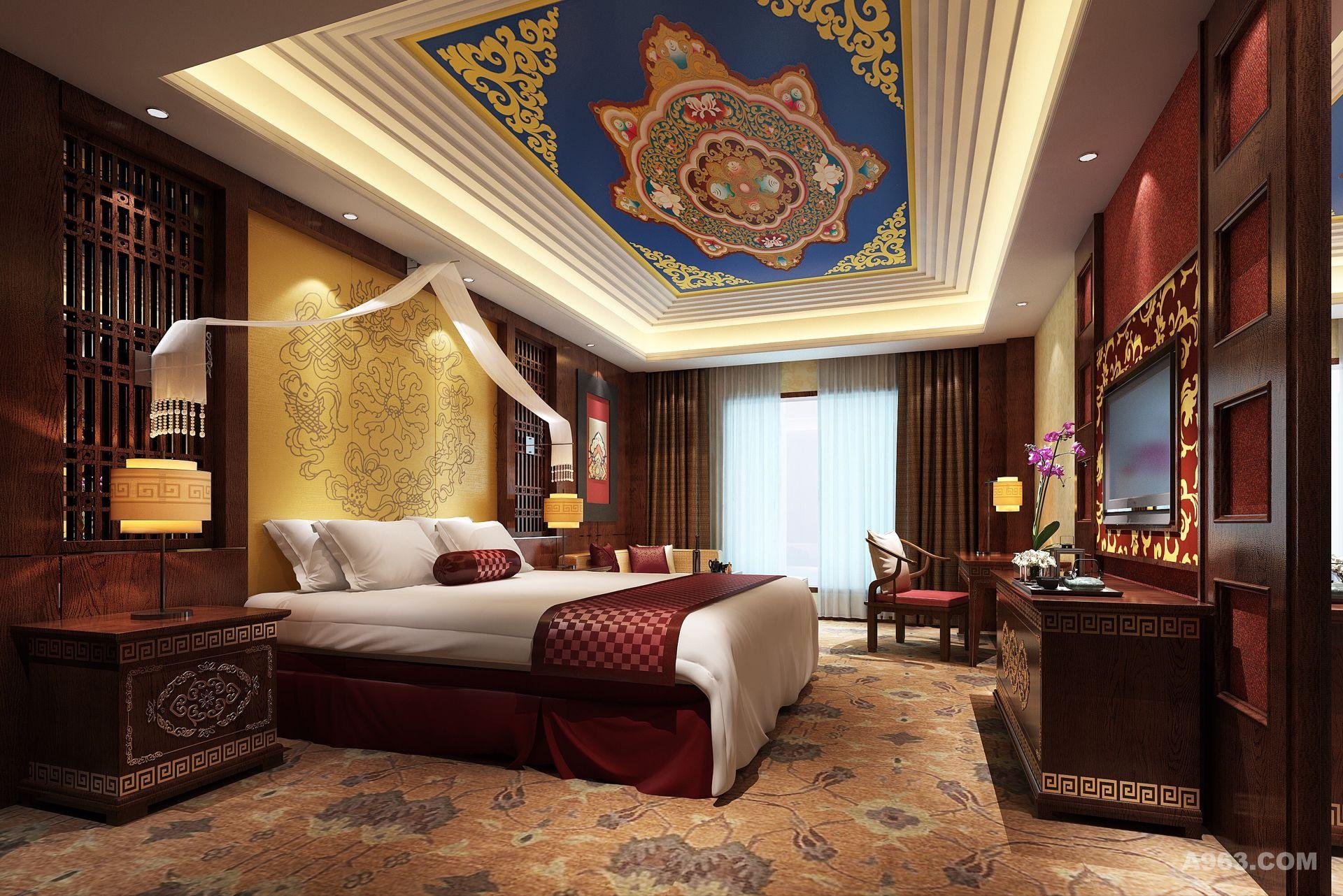 理县古尔沟诗曼温泉主题酒店设计方案