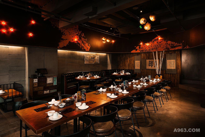 火锅餐厅灯光设计图片