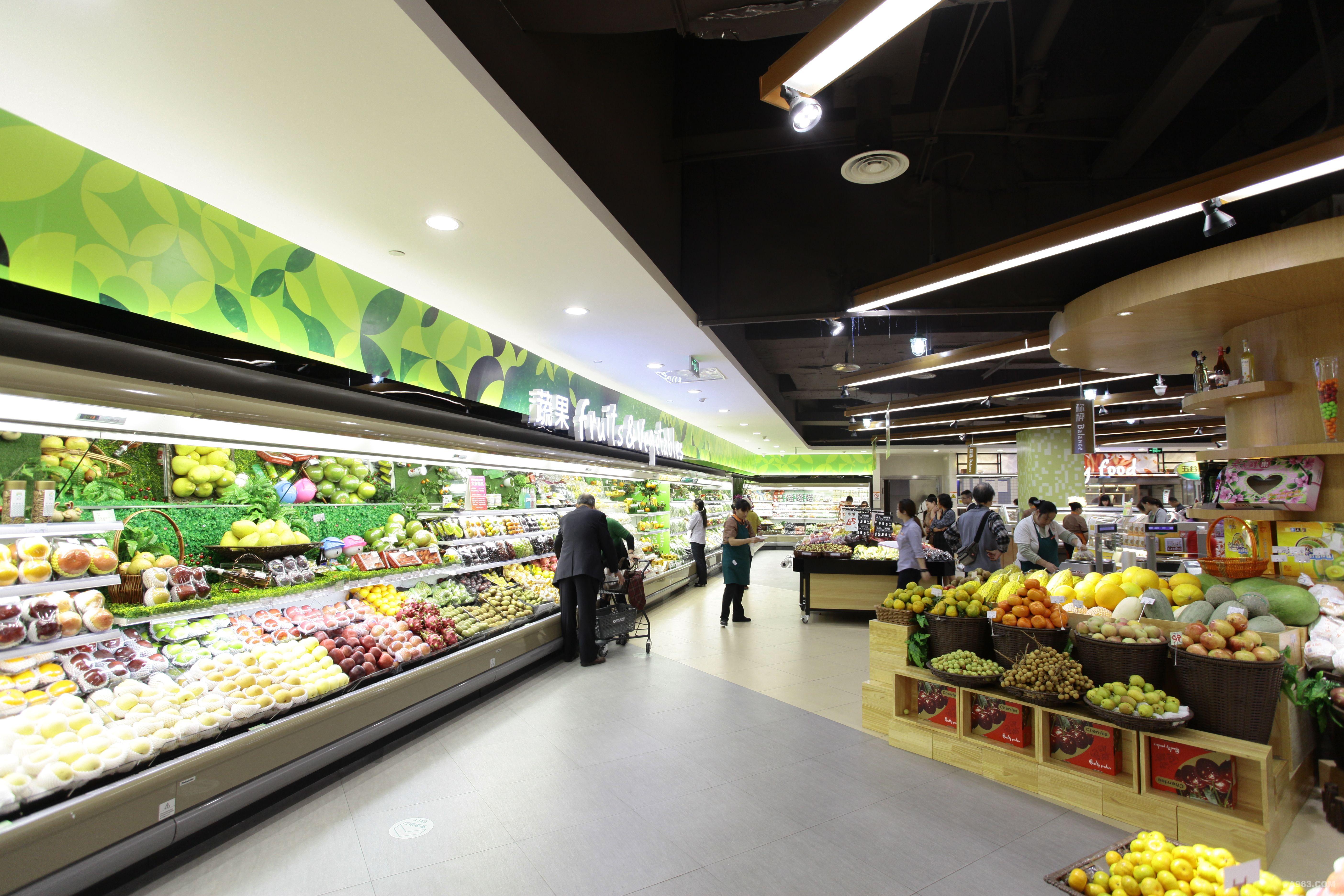 超市灯光设计图