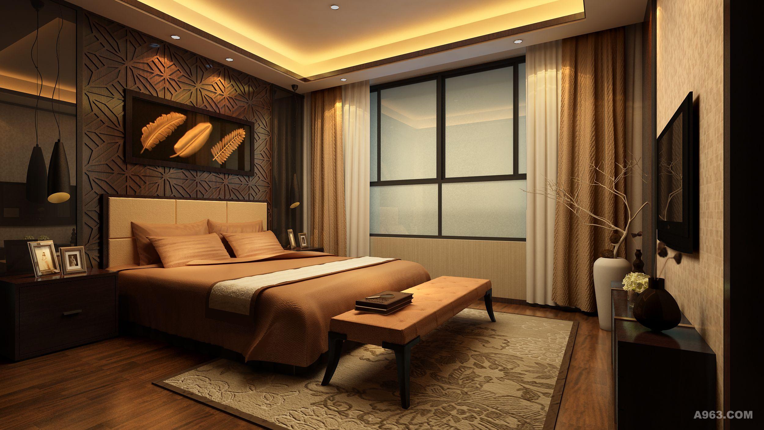 背景墙 房间 家居 酒店 设计 卧室 卧室装修 现代 装修 2500_1406