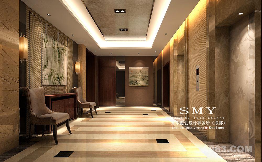 成都快捷酒店设计公司_水木源创设计