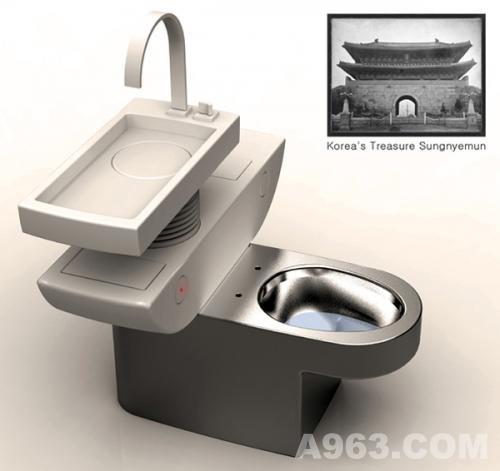 卫浴展厅-节水马桶创意设计