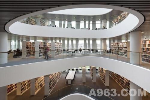 图书馆设计欣赏:阿伯丁大学图书馆新馆
