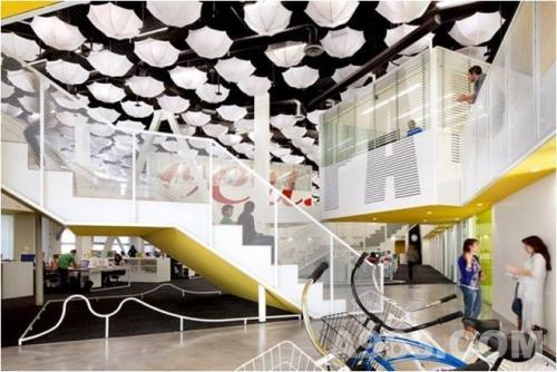grupo gallegos创意办公空间设计