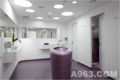 """德国慕尼黑机场""""vip wing""""休息厅 空间设计"""