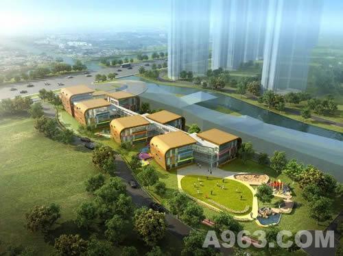 中国苏州白塘一号幼儿园设计效果图