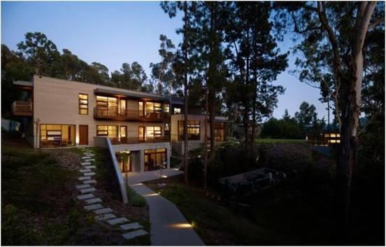 欣赏 洛克菲勒建筑师事务所别墅设计
