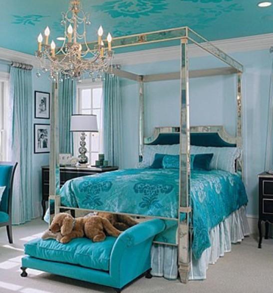 室内设计欣赏 绿松石蓝绿色调家居