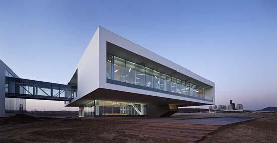 辽宁葫芦岛海滩展览中心设计欣赏