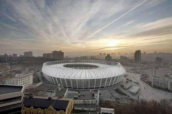 公共空间设计:基辅奥林匹克体育场