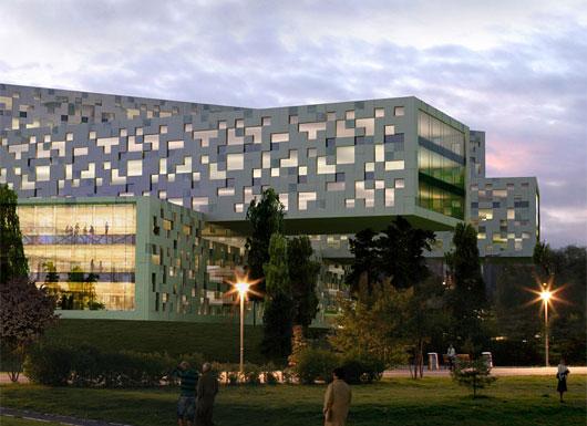 挪威生态办公楼 a-lab设计