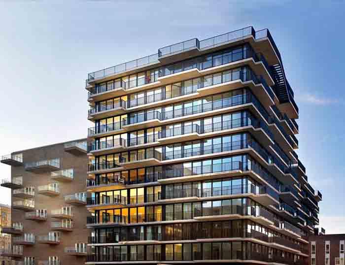 建筑设计 阿姆斯特丹westerdok公寓