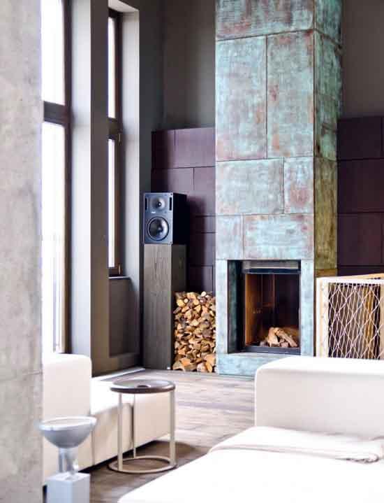 创意空间设计:乌克兰时尚的工业loft设计