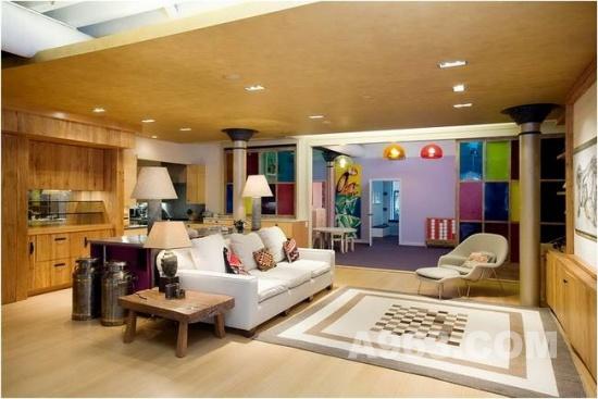 公寓室内设计 曼哈顿阁楼