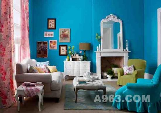 时尚多彩的室内装饰设计