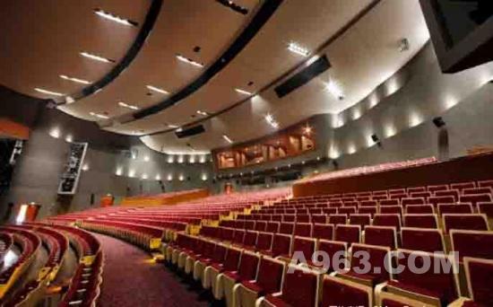 公共空间设计 成都华侨城剧场