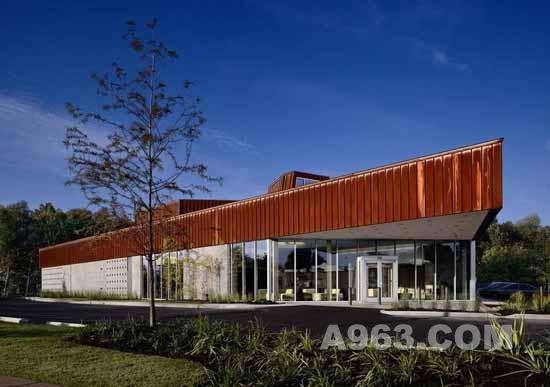 医疗建筑设计欣赏:美国孟菲斯动物医院