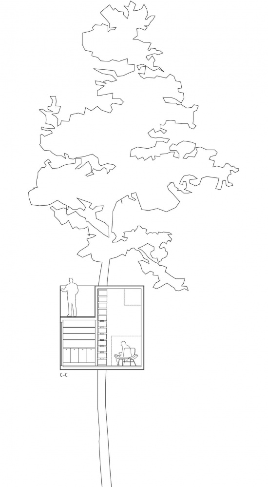 创意建筑设计欣赏 树旅店