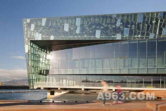 建筑欣赏 冰岛雷克雅维克的哈帕音乐会堂