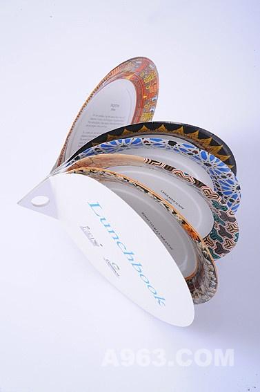 创意设计欣赏 午餐书(lunch book)餐具 - 设计前沿