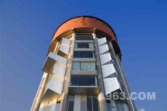 mandrup设计丹麦水塔改造公寓