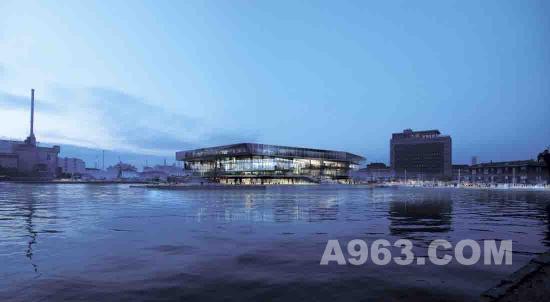 文化建筑设计 纳维亚半岛最大的公共图书馆