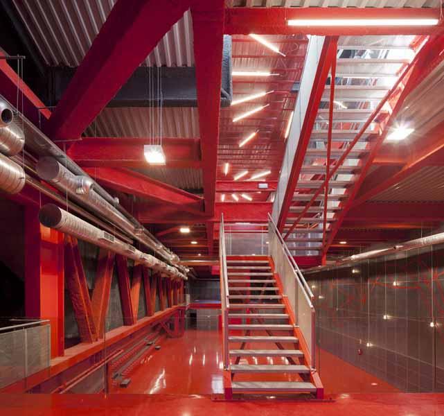 地下公共空间设计:teruel-zilla