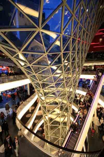 商业空间设计欣赏:德国myzeil商业中心