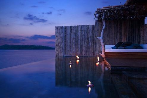 别墅室内设计:柬埔寨雨林岛屿别墅