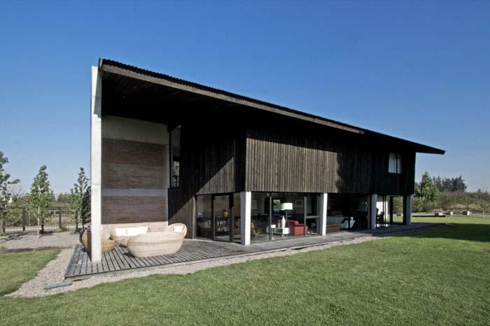 智利colina别墅设计欣赏 opa