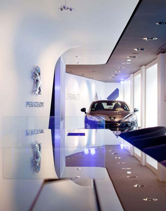 商务空间设计:巴黎标致概念店