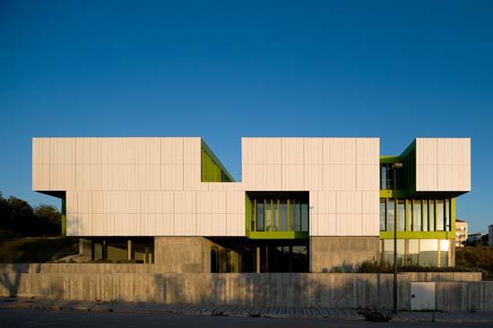 葡萄牙马丹公园办公楼设计欣赏 ppst arquitectura