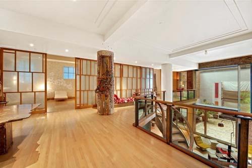 美国纽约曼哈顿tribeca复式公寓室内设计欣赏