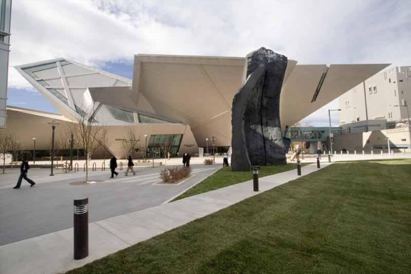 文化空间设计:美国丹佛艺术博物馆