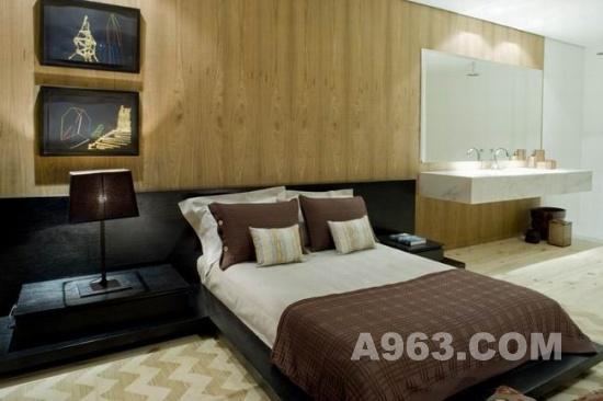 住宅空间室内设计:巴西自然元素美宅