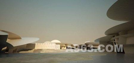 建筑设计欣赏:卡塔尔多哈国家博物馆让努维尔