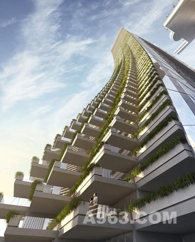 建筑设计欣赏:重庆朝天门摩天大楼设计