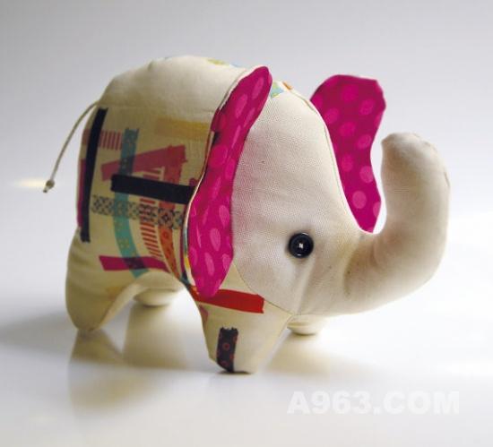 俏皮可爱逼真的布艺小动物手工萌物