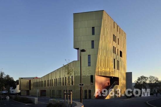 建筑设计欣赏 法国一艺术大楼