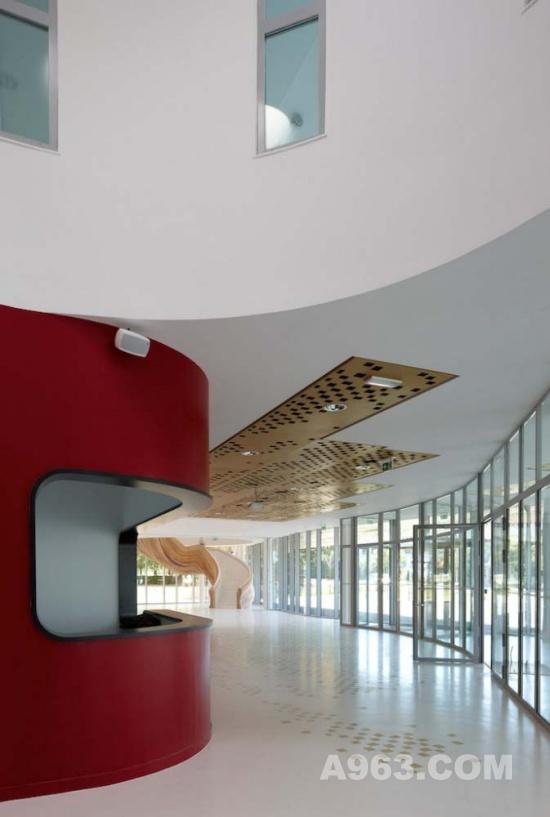文化空间设计 法国一艺术学校