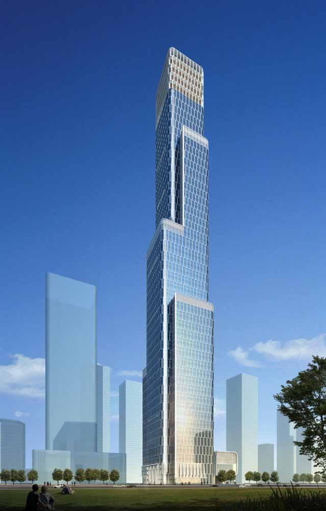 建筑设计:天津富力广东大厦